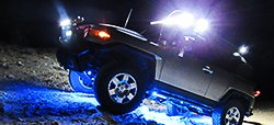 Off Road Truck with Rock Light