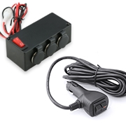 Cigarette Lighter Adapter & Outlet Box