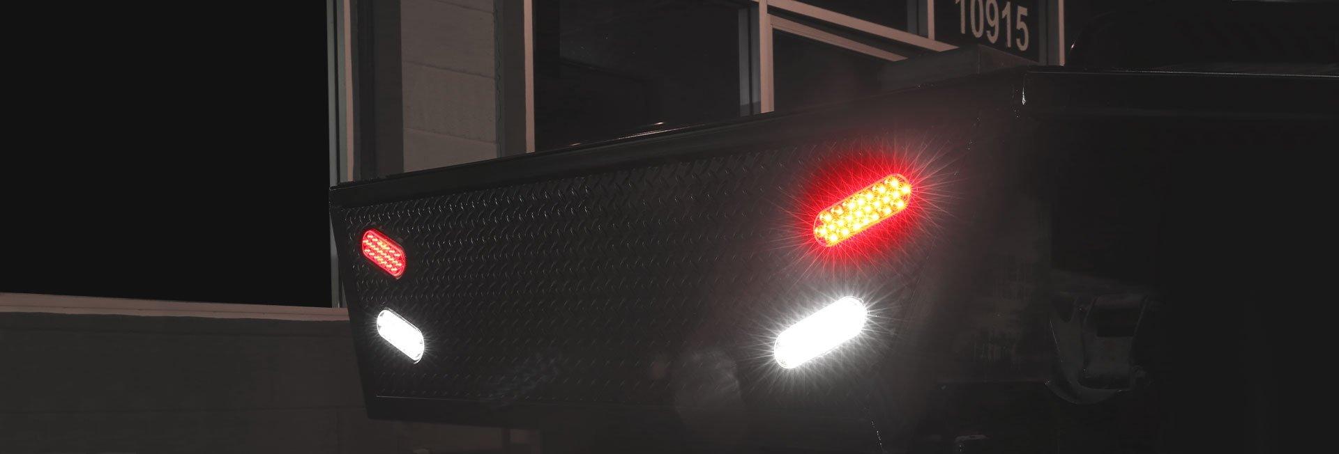 "6"" Oval Tail Lights"