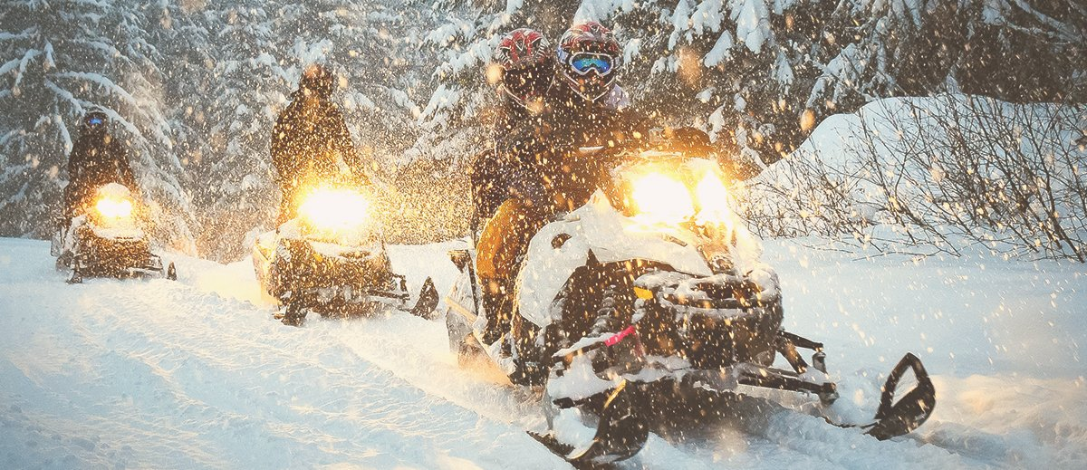 snowmobile lights