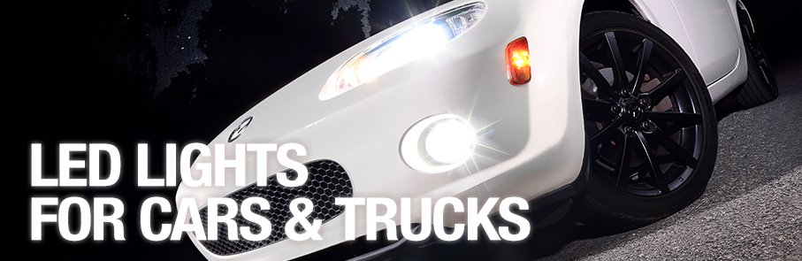 LED Lights for Cars & Trucks