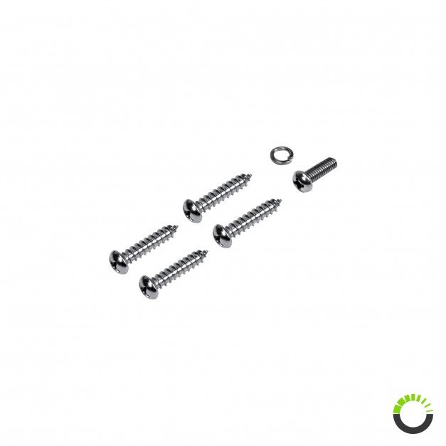 Pack (4+1pc) of Mounting Screws for Modular Fuse Box PWR0031