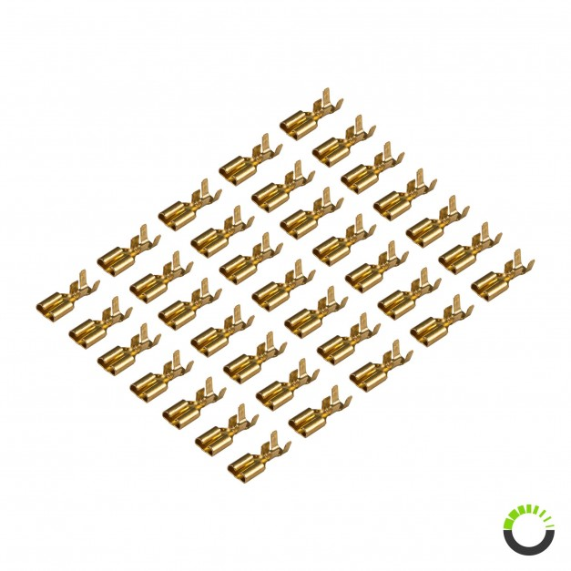 Pack (35pc) of Relay Wire Terminals for Relay Box PWR0312