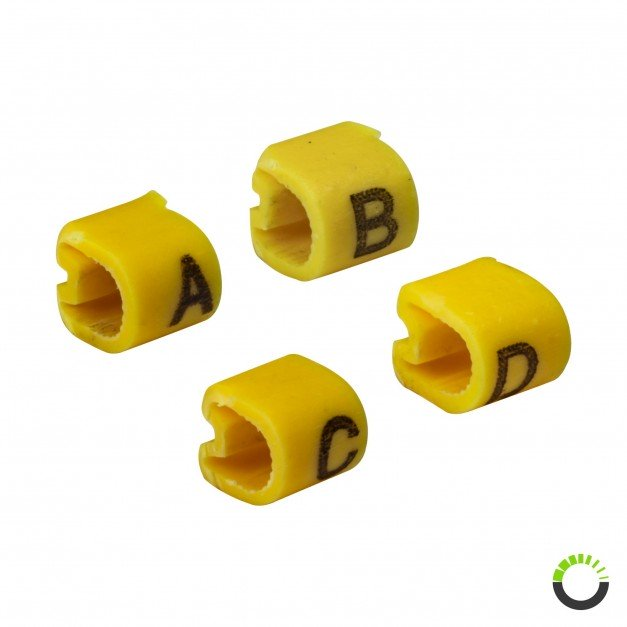 A - D Wire labels for Switch Box SWH0081