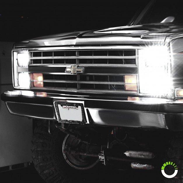 "6"" x 4"" Rectangular 45W LED Headlight"