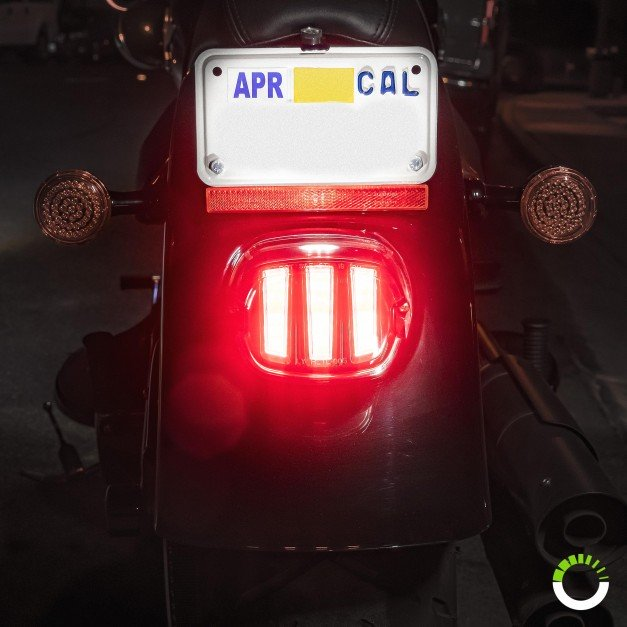 Claw Design DOT Approved Harley Davidson Motorcycle-Specific Brake Light