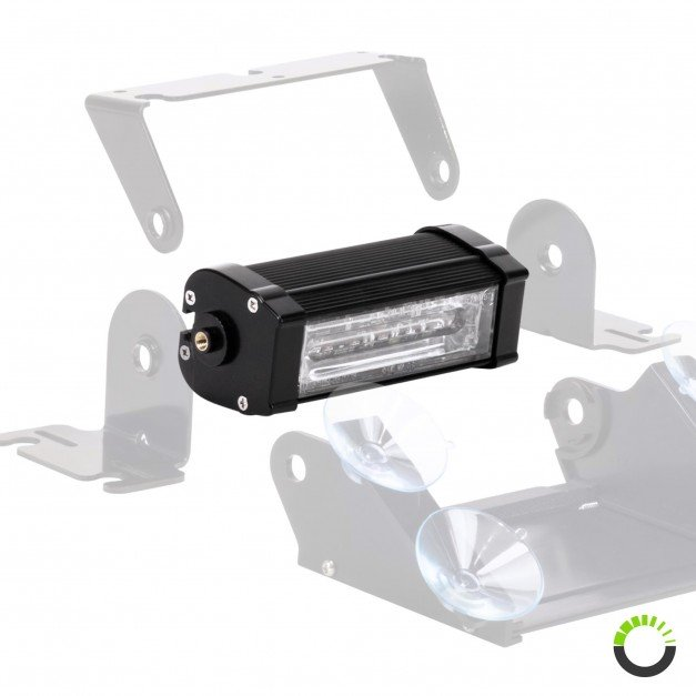 """CosmicRay 5"""" 6W Dash and Deck Light"""