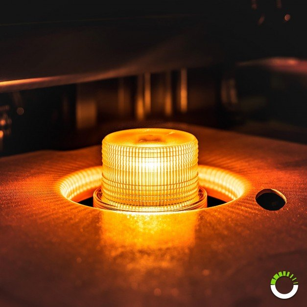 "mini-AURA 4"" 4W Beacon Light - Amber"