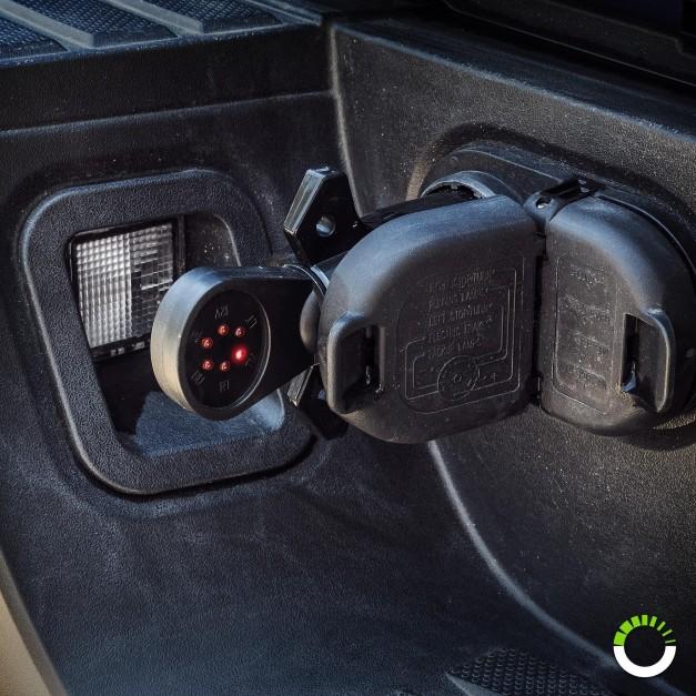 7-Way Blade LED Indicator Trailer Wiring Circuit Tester