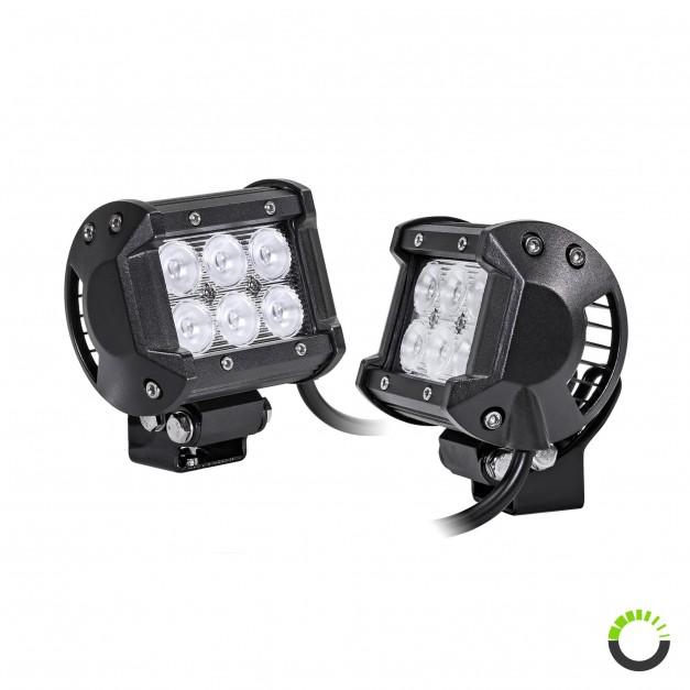 "2pc LAMPHUS CRUIZER CRLB06 4"" 18W Off Road LED Light Bar"