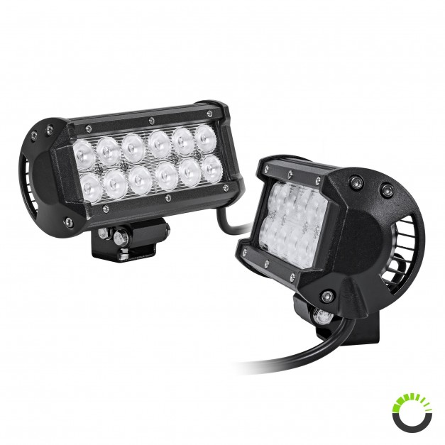 "2pc CRUIZER 6.5"" 36W LED Light Bar"