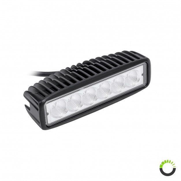 "Single-Row 6.25"" 18W LED Daytime Running Light (DRL)"