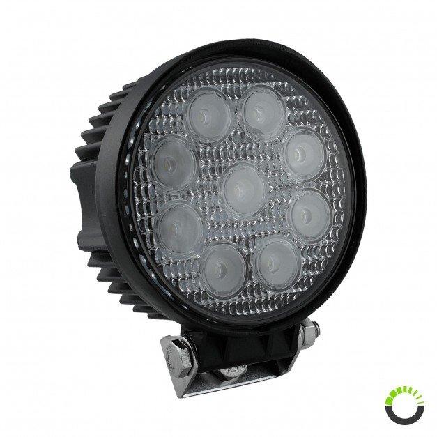 "4.5"" 27W LED Round Work Light"