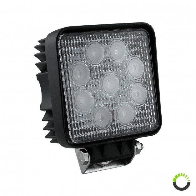 "4.25"" 27W LED Square Work Light"