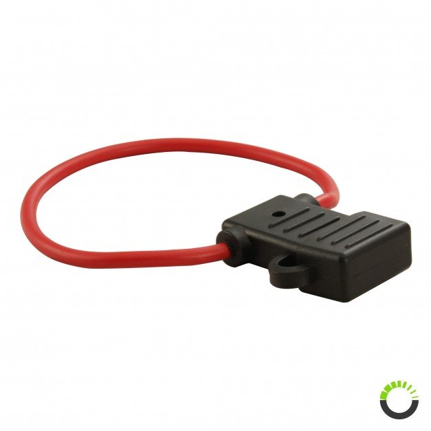 Inline ATO/ATC 10 AWG Fuse Holder w/ 30A Fuse