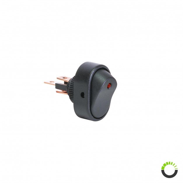 12V DC 30A 3-Pin SPST ON/OFF Rocker Switch
