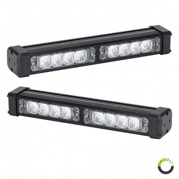 "2pc SolarBlast 11"" 8W Deck Light"
