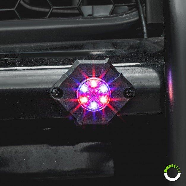 4pc SnakeEye-III 6W Surface-Mount Hideaway Light