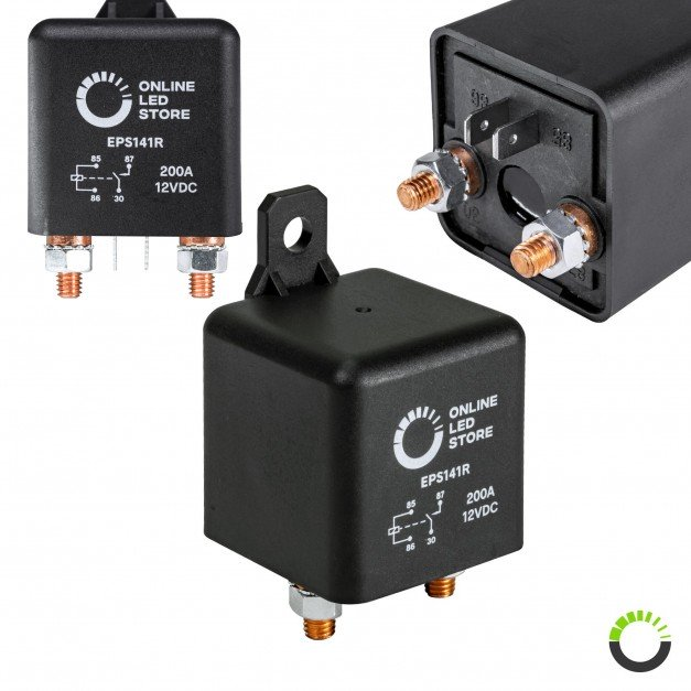 14V DC 200A SPST 4-Pin Split-Charge Relay