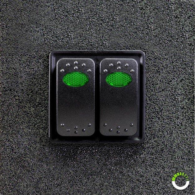 Expandable Rocker Switch Panel/Housing Kit