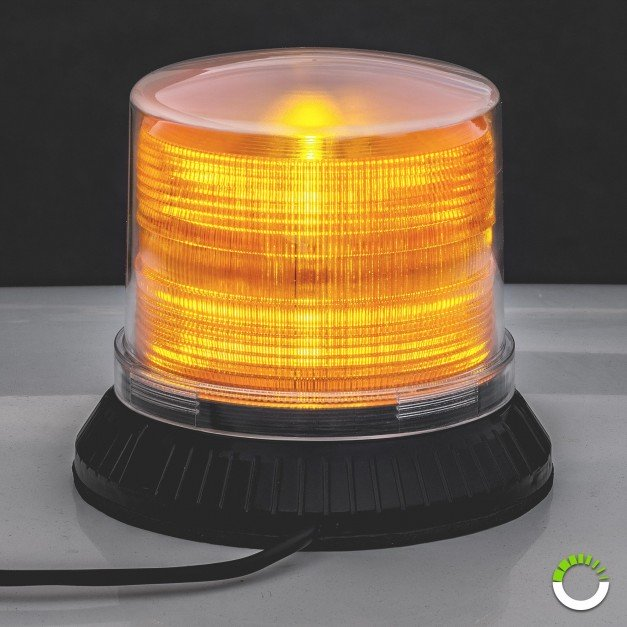 "5"" 12W Low Dome Beacon Light"