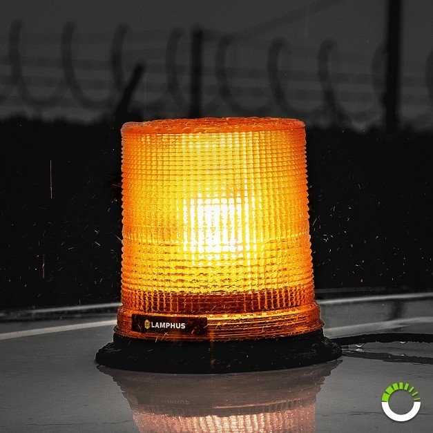 "AURA 7"" 12W Beacon Light"