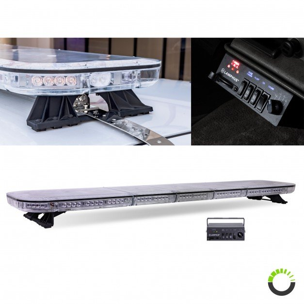 "SolarBlast 65"" 130W Full-Size Light Bar + Controller"