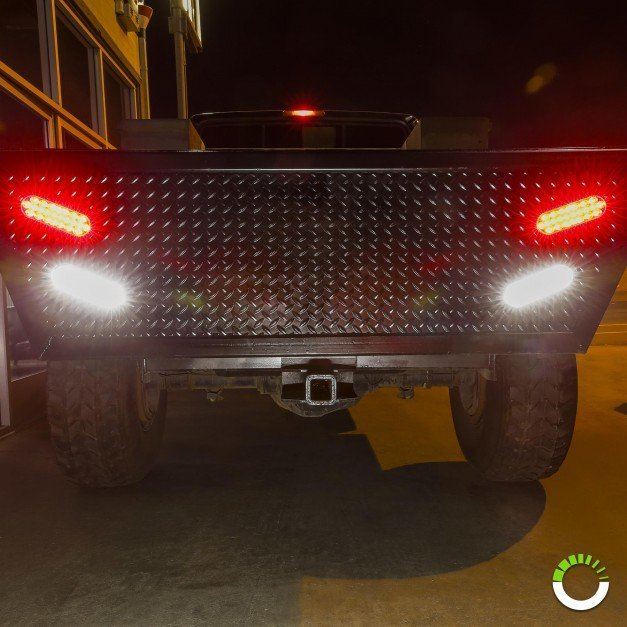 "6"" 24-LED Oval Tail Light"