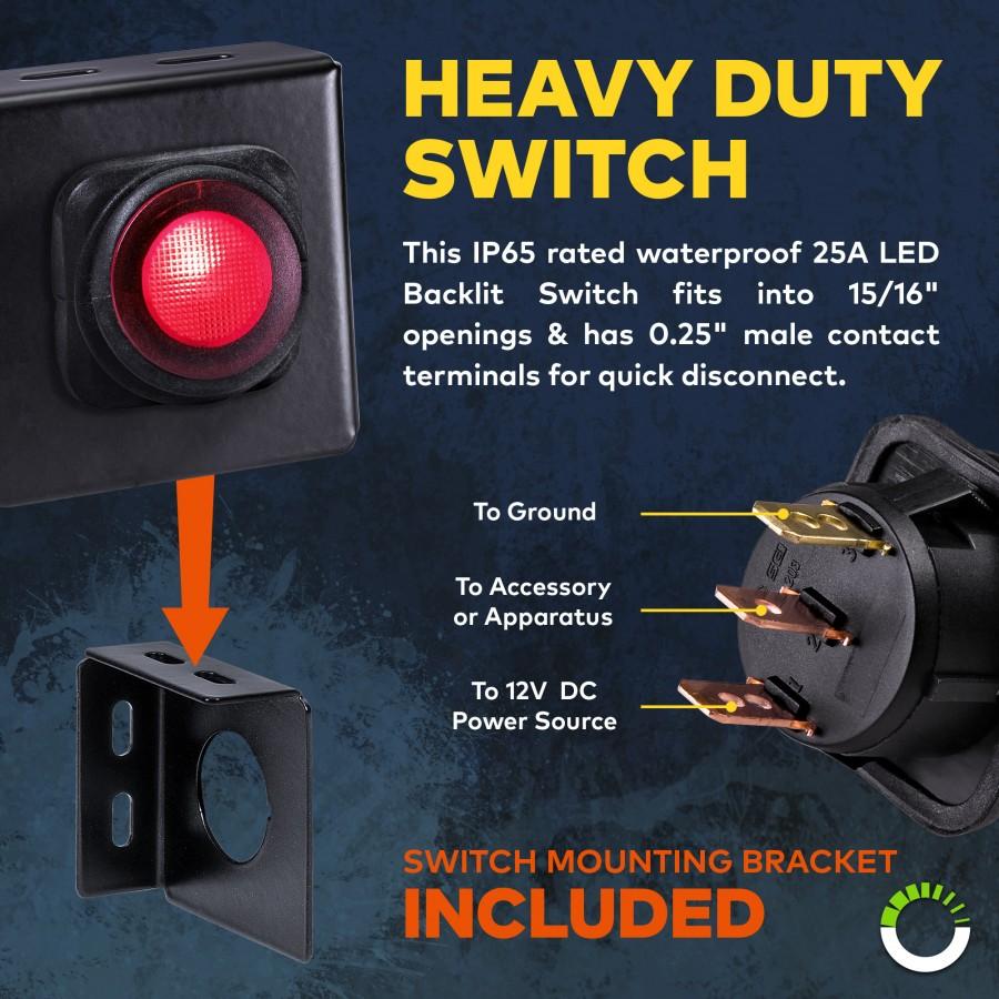 Off Road Led Light Bar Wiring Harness Kit Kc Lights Diagram Dpdt Switch Prev