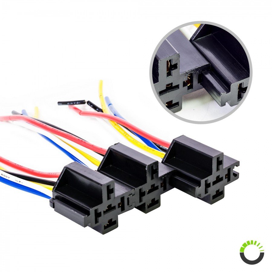 bosch relay socket harness automobile wiring harness. Black Bedroom Furniture Sets. Home Design Ideas