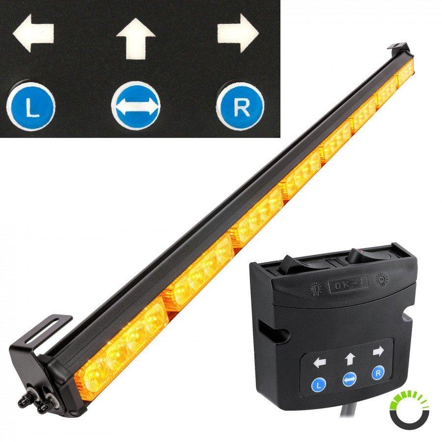 traffic advisor light bar strobe light bars