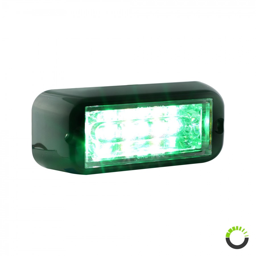 Linear Optic Lights 6w Leds Warning Flashing Light Rocker Switch Spst X2 With Red Green Indicator Lamps Next