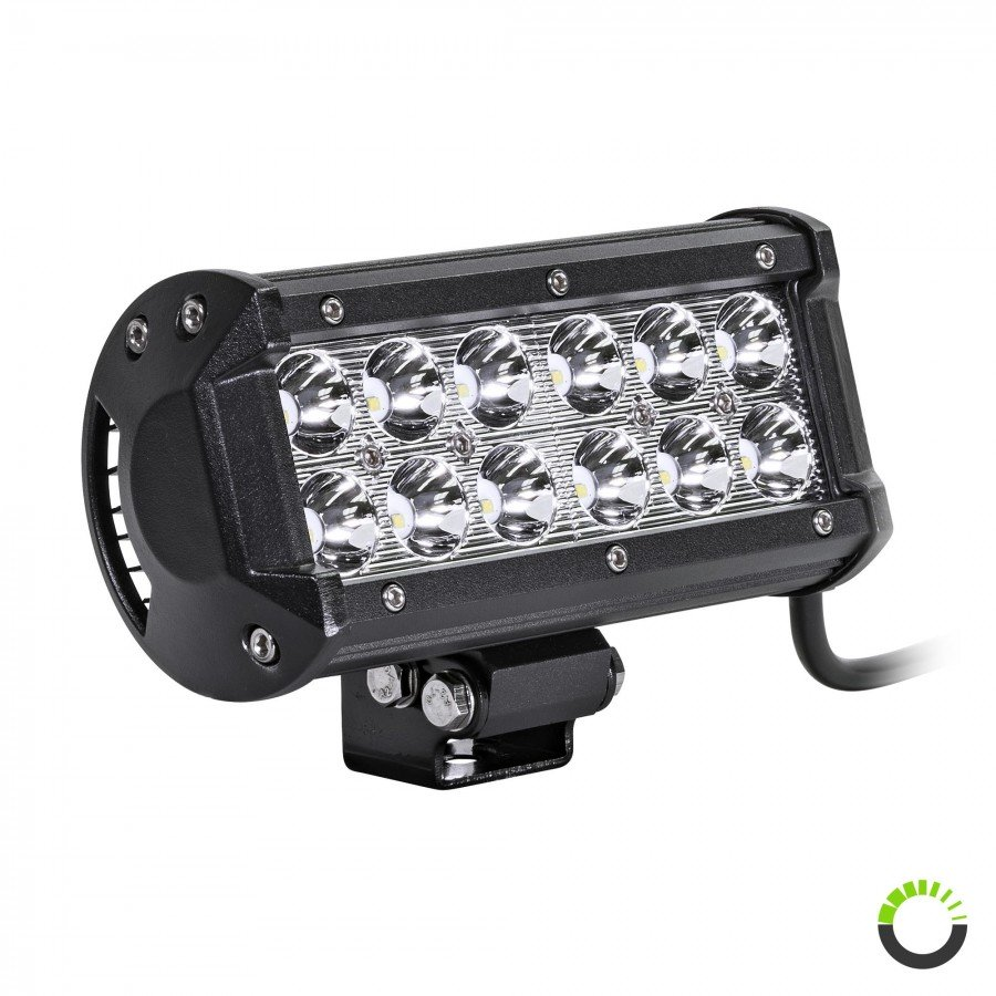 Lamphus Cruizer Crlb12 Led Work Light With Amber Lens Cover And 107 Atv Wiring Harness Prev