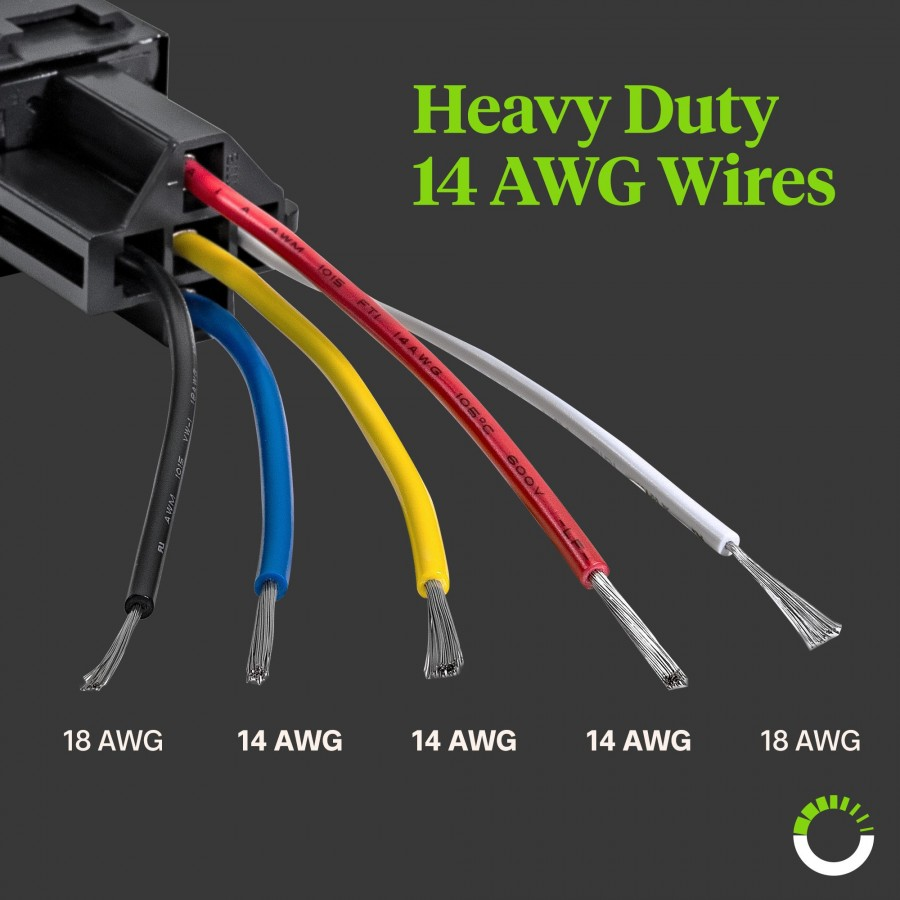 5 pin relay harness 40 amp relay socket online led store rh online led store com