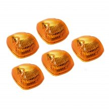 5pc 12-LED Universal Cab Light - Amber (Direct Replacement for 94-98 Dodge Ram)