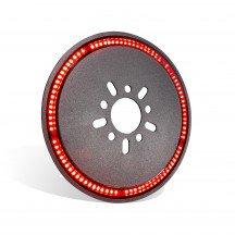 Red LED Spare Tire Third Brake Light