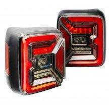 TBL2802 LED Tail Light Kit for Jeep JL - Clear