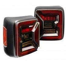 TBL2802 LED Tail Light Kit for Jeep JL - Smoke