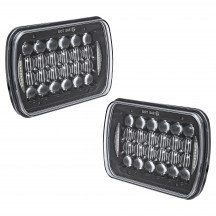 """2pc 7"""" x 5"""" LED Headlight w/ DRL"""