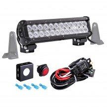 "LAMPHUS CRUIZER CRLB24 12"" 72W Off Road LED Light Bar + Wiring Harness Kit"