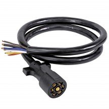 8ft 7-Way Blade 10-14 AWG Trailer Cable