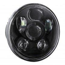 "5.75"" Round LED Sealed Beam Headlight for Harley Bikes"