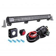 "LAMPHUS CRUIZER CRLB78 36"" 234W Off Road LED Light Bar + Wiring Harness Kit"