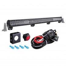 "CRUIZER 44"" 288W LED Light Bar + 8ft Wiring Harness Kit"