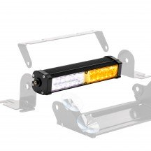 """CosmicRay 9"""" 16W Dash and Deck Light - Amber / White"""