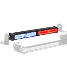 """CosmicRay 17"""" 32W Dash and Deck Light - Blue / Red"""