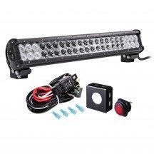 "LAMPHUS CRUIZER CRLB42 20"" 126W Off Road LED Light Bar + Wiring Harness Kit"