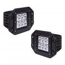"""2pc 5"""" 18W Cube Flush-Mount LED Light - Spot"""