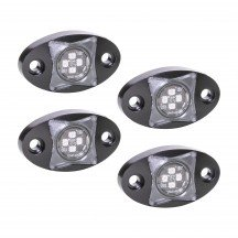4pc StarDust 12W LED Rock Light