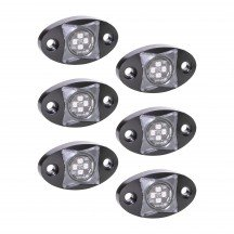 6pc StarDust 12W LED Rock Light